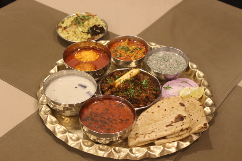 Special Kolhapuri Non-Veg Thali